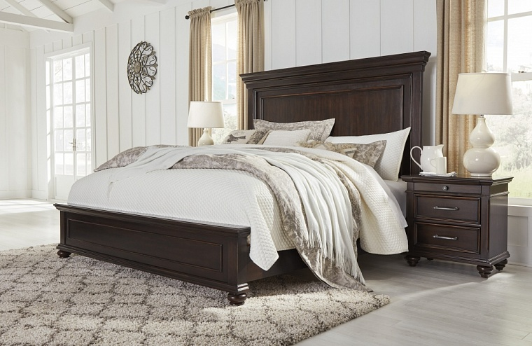 Кровать King UPH Panel Bed  (спальное место 1,95*2.05m)