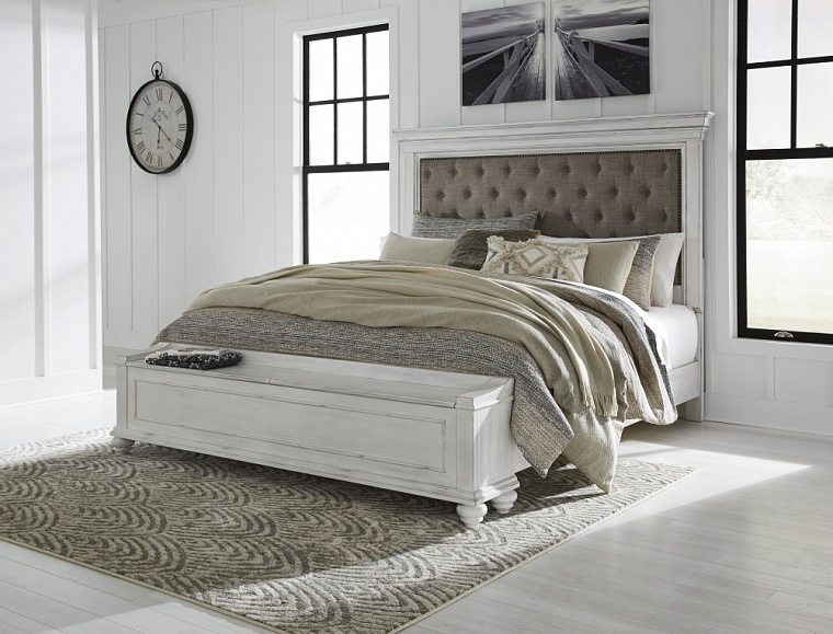 Кровать King UPH Panel Bed Storage  (спальное место 1,95*2.05m)