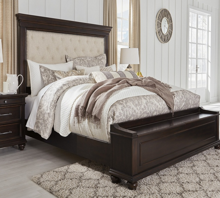 Кровать Queen UPH Panel Bed Storage  (Спальное место 1,55*2,05м)